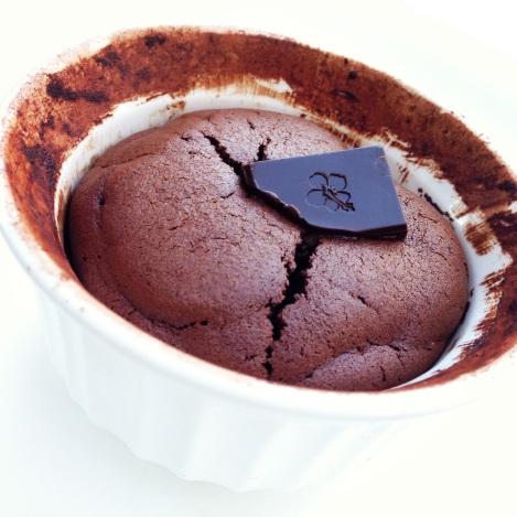 Paleo Chocolate Souffle