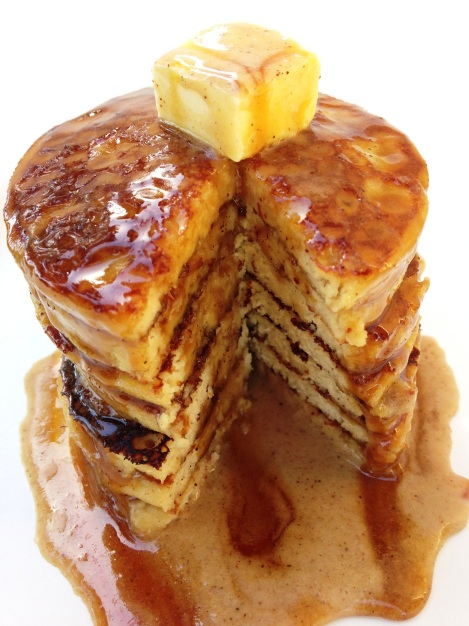 Paleo Vanilla Chai Pancakes
