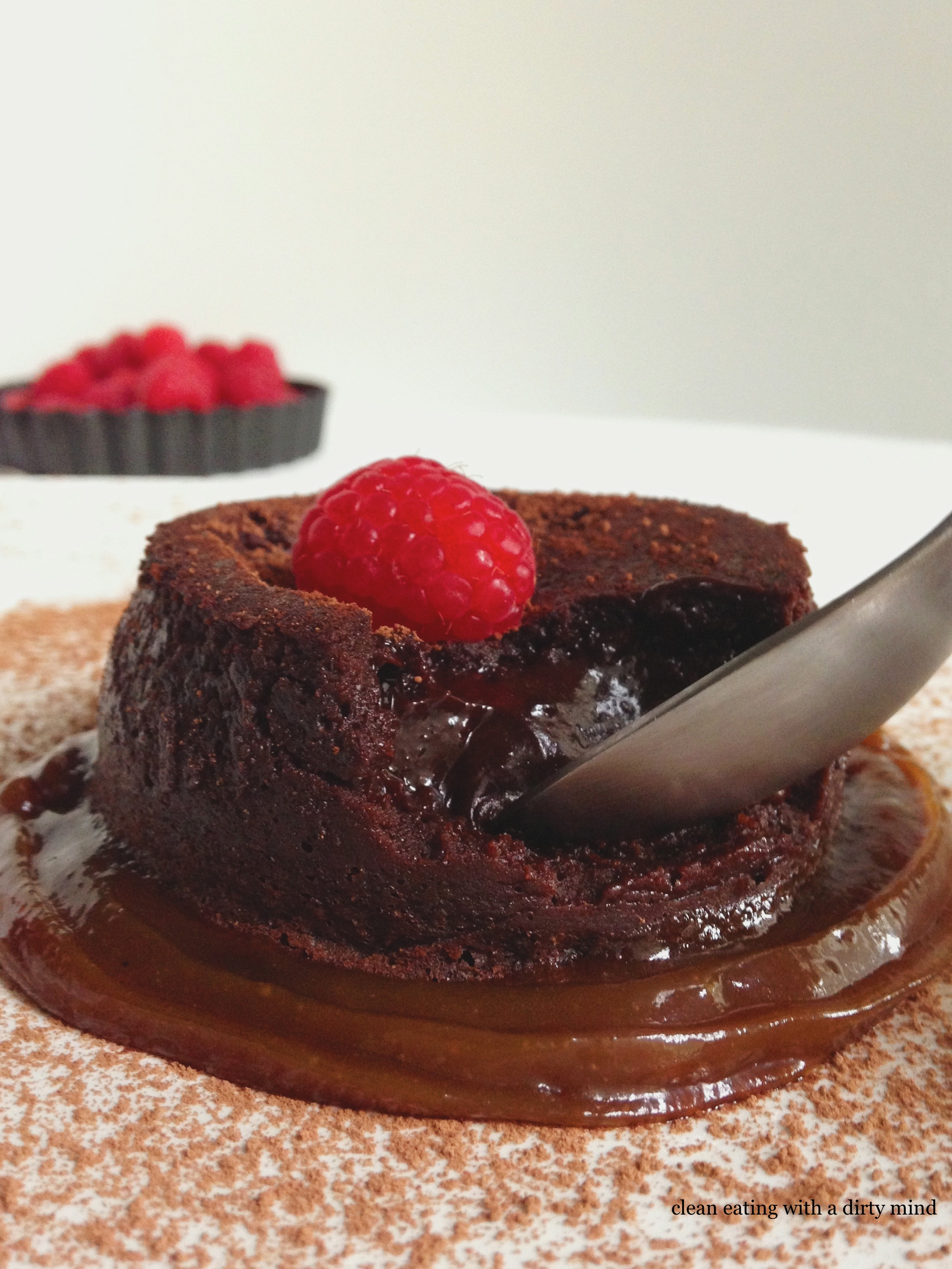 Paleo Molten Chocolate Lava Cake | Clean Eating with a ...