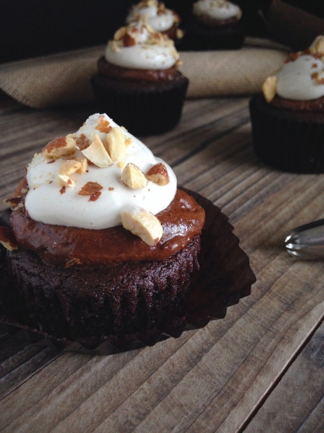 Paleo Rocky Road Cupcakes